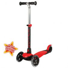 ZYCOM ZING inc LIGHT UP WHEELS - RED / BLACK